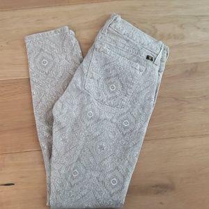 Lucky Brand Sofia Skinny Printed Pants